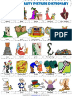 Sleeping Beauty Fairy Tale Picture Dictionary