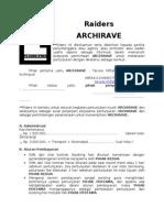 Raiders Archirave (Ehv)
