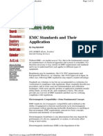 Emc Standards and Their Application