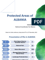 Protected Areas of ALBANIA