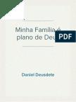 Pregação - Minha Família (da Aliança) no Plano de Deus - 23.8