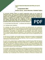 anlisiscomparativodelaleyfederaldeeducacin-121207040745-phpapp01
