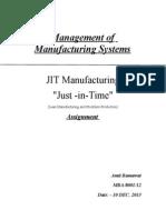 JIT-manufacturing.doc/Amit/ramawat