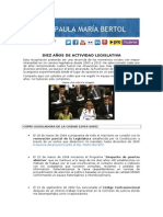 Rendición de Cuentas - Momentos importantes - 2003-2013