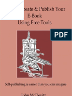 How to Create & Publish Your E-Book Using Free Tools