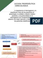 Propedeutica en Ginecologia