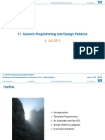 11 Generic Programming and Patterns