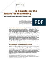 Engaging Boards on the Future of Marketing