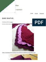 BABY BAKTUS | La Maglia Di Marica