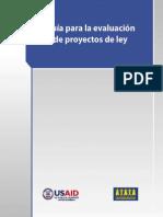 Guía para evaluación de PL