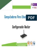 Capacitación-Configuración-Router