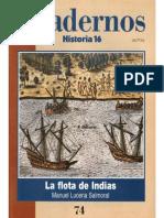 Cuadernos Historia 16, nº 074 - La Flota de Indias