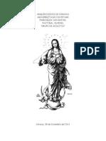 Misa de La Inmaculada Concepcion