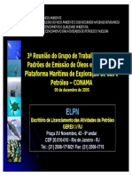 Brasil, IBAMA - Apresentacao de composicao de água produzida
