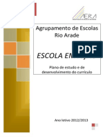 Plano de Estudo e de Des. Do Curriculo