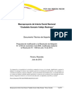 Documento Tecnico de Soporte Mgvr