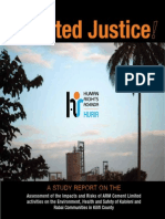 Polluted Justice Report