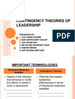 Contingency Theories of Leadership Finale