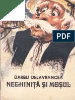 Neghinita şi moşul de Barbu Delavrancea