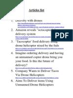 Articles List