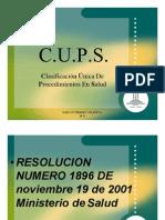Tarifas CUPS Envigado