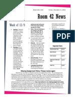 newsletter 14 2013-2014