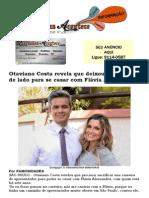 Otaviano Costa revela que deixou a carreira de lado para se casar com Flávia Alessandra