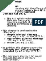 chapter 16 criminal damage