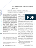 Natali F Et Al. 2007. Oleic Acid is a Potent Inhibitor of Fatty Acid and Chol