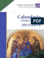 2014 Calendar i o