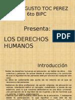 Presentacion de Los Derechos Humanos