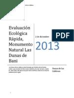 Evaluación ecológica rápida Dunas de Bani (2) (Autoguardado)