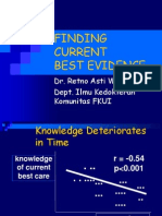 Finding Current Best Evidence