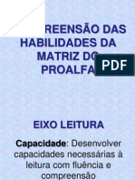 HABILIDADES PARA LEITURA COM FLUÊNCIA E COMPREENSÃO