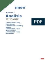 Proyek AnalisaPerancangan Sistem Informasi - Dokumentasi Analisis