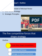Blue Ocean Strategy + Five forces module
