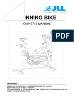 JLL JF 500 Spin Bike