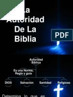 Autoridad de La Biblia