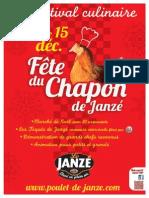 21e Fête du Chapon de Janzé