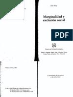 Nun- Marginalidad y exclusión social- hasta 151