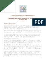 CNB, Problemi bioetici in una società multiculturale