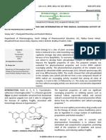 40 Vol. 3, Issue 3, 2012, IJPSR-1211, Paper 40