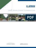 Puentes Vehicular y Peatonal en Armadura de Acero - Panama
