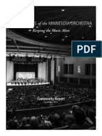 Musicians of the MN Orchestra Community Report