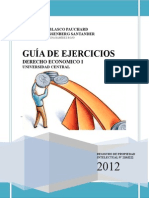 Guia de Ejercicios Derecho Economico i
