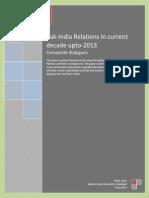 Pak India Relations 2012