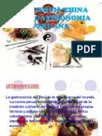 Imfluencia China en La Gastronomia Peruana