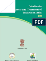 Guidelines for Diagnosis Treatment for Malaria