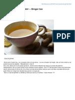 Alexjuncu.ro-ceai Special de Ghimbir Ginger Tea