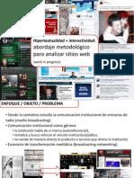 Hipertextualidad + interactividad